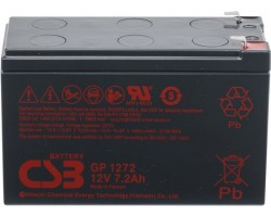 Аккумуляторная батарея CSB GP 1272 F2 25W 12V/7.2Ah