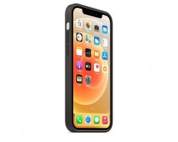 Аксессуары для iPhone APPLE MHL73ZE/A iPhone 12 | 12 Pro Silicone Case with MagSafe - Black
