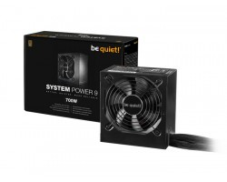 БП be quiet! 700W System Power 9 (BN303) ATX (24+2x4+4x6/8пин) Cable Management , 80 PLUS Bronze , APFC , 120mm FAN
