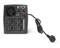 ИБП ИМПУЛЬС ЮНИОР СМАРТ 2200 (аналог Ippon Back Basic 2200 Euro), 2200/1320 ВА/Вт, LCD, USB, RJ11/RJ45, SCHUKOx4 (~230В, АКБ 2х9Ач), напольный Источник бесперебойного питания