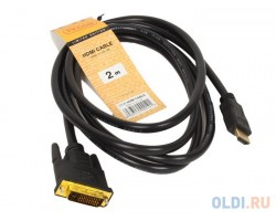 Кабель-переходник HDMI - DVI-D TV-COM LCG135E-2M 2 метра