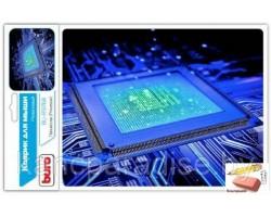 Коврик для компьютерной мыши Buro BU-R51768, рисунок процессор