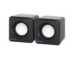 Колонки Oklick OK-330 2.0 черный 6Вт USB