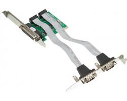 Контроллер PCI-E WCH382 1xLPT 2xCOM RTL