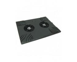 """Подставка для ноутбука Esperanza TA102 Zonda <до 15.6"""", охлаждение: активное, шум 25 дБ, 1 вентилятор (2*160 мм), подсветка, черный>"""