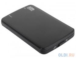 """External case for HDD 2.5"""" AgeStar 3UB2A12 Black (2.5"""", SATA, USB3.0!!!) 85x12x132мм RTL"""