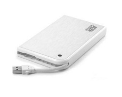 "External case for HDD 2.5"" AgeStar 3UB2A14 White (2.5"", SATA, USB3.0) 80x15.6x133мм RTL 3UB2A14-White"