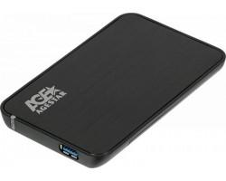 """External case for HDD 2.5"""" AgeStar 3UB2A8-6G Black (2.5"""", SATA, USB3.0) RTL"""