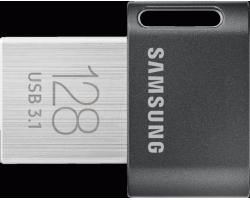 128Gb Samsung FIT Plus 128GB (MUF-128AB/APC), USB 3.0, Black