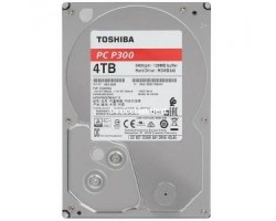 """HDD 3.5"""" SATA-III Toshiba 4Tb P300 (HDWD240UZSVA) 7200RPM 64Mb 6Gb/s"""