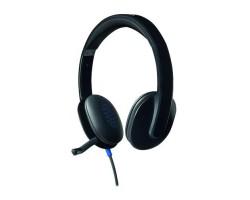 Logitech USB Headset H540 <981-000480, Black> 981-000480