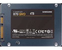 """SSD 2.5"""" SATA-III Samsung 4Tb 870 QVO MZ-77Q4T0BW RTL"""