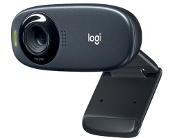 Web-cam Logitech HD WebCam C310 (960-001065) (1280x720, MIC, USB2.0, крепл. NB и LCD) Black RUS RTL