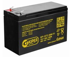 Аккумуляторная батарея Kiper GP-1272 28W F1 12V/7.2Ah