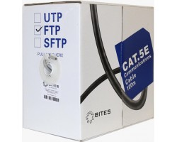 Кабель бухта 5bites FTP cat.5е FS5505-100A <100m>