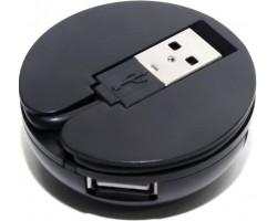 Концентратор USB-хаб 5bites 4 порта черный (HB24-200BK)