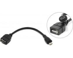 Кабель OTG USB A - microUSB 5P 5bites UA-AF-MICRO5-OTG, 0.1м