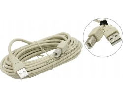 Кабель USB A-B 5bites UC5010-050C, USB 2.0, 5m