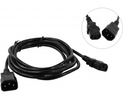 Кабель питания PC-189 5bites UPS107530, IEC C13 - C14, 3м
