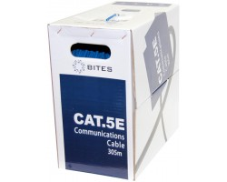 Кабель бухта 5bites UTP cat.5e US5505-305A-BL <305m>