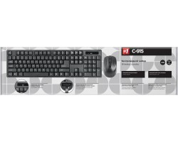 Клавиатура + мышь Defender C-915 45915