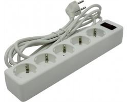 Сетевой фильтр Defender ES 3 White 99482 (3 метра, 5 розеток)