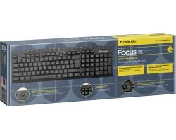Клавиатура Defender Focus HB-470 USB Black 45470