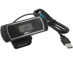 Web-cam Defender G-lens 2597 Black (HD720p, 2.0Mp, автофокус, слеж за лицом, 63197) RTL