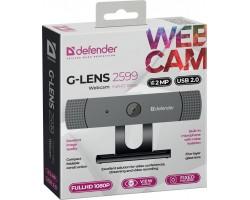 Web-cam Defender G-Lens 2599 (2Мп, кабель 2м) (63199)