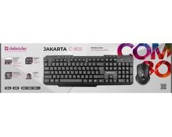 Клавиатура + мышь Defender Jakarta C-805 RU 45805