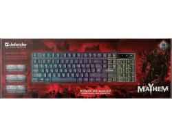 Клавиатура Defender Mayhem GK-360DL 45360