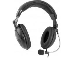 Компьютерная гарнитура Defender Orpheus HN-898 черный, кабель 3 м 63898