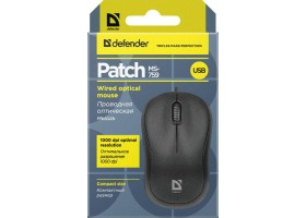 Мышь Defender Patch MS-759 Black 52759