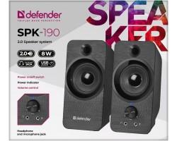 Колонки 2.0 Defender SPK-190 (2x4W, питание от USB) (65190)