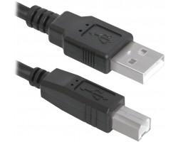 Кабель USB 2.0 A - B Defender USB04-06 USB2.0 83763 (1.8 метра)