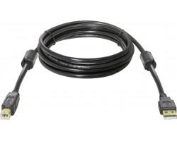 Кабель для принтера DEFENDER USB04-10PRO USB2.0 AM-BM, 3.0m 87431