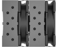 Кулер ID-Cooling SE-207-XT Black (LGA2066/2011/1200/1150/1151/1155/1156/AM4 , 700-1800 об/мин, TDP 280W , 7 тепл.трубок , DUAL FAN 120mm, 4-pin PWM) ID-CPU-SE-207-XT-BLACK