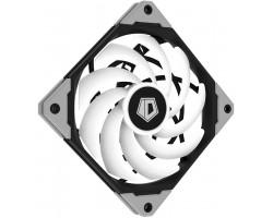 Вентилятор 120mm ID-Cooling NO-12015-XT-ARGB 120x120x15мм (PWM, Low Noise, супер-тонкий, ARGB, резиновые углы, черный, 500-2000об/мин) BOX