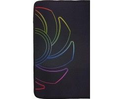 Коврик игровой для мыши ID-Cooling MP-3526 (оптические мыши/лазерные мыши, материал ткань+резина, 350x260х3мм, цвет черный + логотип)