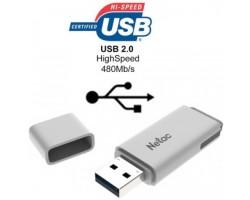 Флешка Netac U185 NT03U185N-016G-20WH (16Гб, USB 2.0)