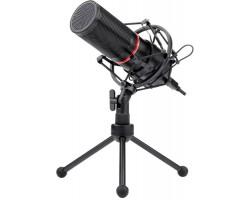 Игровой стрим микрофон Redragon Blazar GM300 USB, кабель 1.8 м 77640