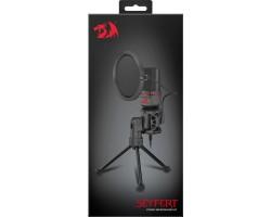 Игровой стрим микрофон Redragon Seyfert GM100 3.5 мм, кабель 1.5 м 77638