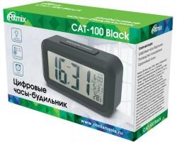 Smart Weather Station RITMIX CAT-100_BLACK RITMIX Smart Weather Station Black,