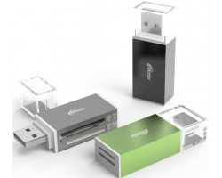 USB Концентратор RITMIX CR-2042_BLACK Card Reader RITMIX CR-2042 black