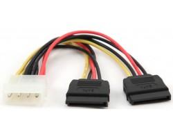 Переходник питания с MOLEX на SATA Cablexpert CC-SATA-PSY