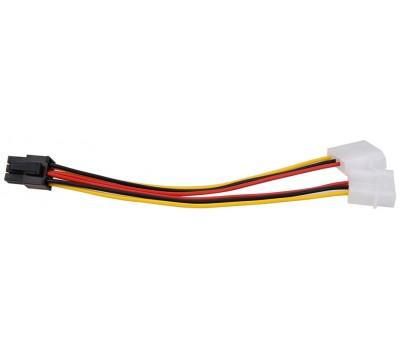 Переходник питания для видеокарты Gembird CC-PSU-6