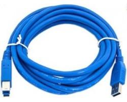 Кабель USB 3.0 A - B KREOLZ CUU3-18 (1.8 метра)