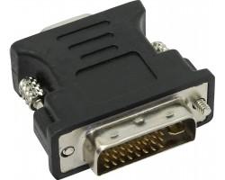 Переходник с DVI-I на VGA Cablexpert A-DVI-VGA-BK