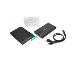 """Бокс для жесткого диска 2.5"""" Gembird EE2-U2S-5 (USB 2.0)"""