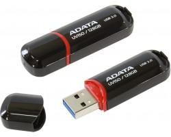 Флешка ADATA DashDrive UV150 (AUV150-128G-RBK) (128Гб, USB 3.0)